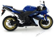 Welly - Motocykl Yamaha YZF-R1 model 1:18 modrá