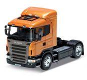 Welly - Tahač Scania R 470 model 1:32 oranžový