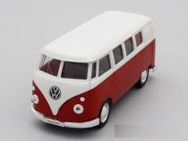 Welly - Volkswagen Classical Bus (1962) model 1:24 červenobílý