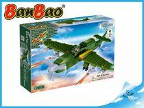 BanBao stavebnice - Defence Force - bitevní letadlo 190ks + 1 figurka ToBees
