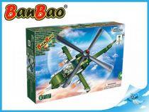 BanBao stavebnice - Defence Force - bitevní vrtulník 231ks + 1 figurka ToBees