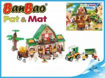 BanBao stavebnice - Eco Farm - Pat a Mat velká farma 541ks