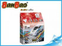 BanBao stavebnice - RaceClub - závodní auto Blizzard