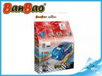 BanBao stavebnice - RaceClub - závodní auto Sapphir