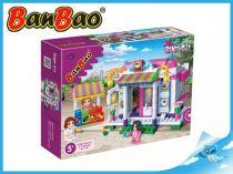 BanBao stavebnice - Trendy City - kavárna 338ks + 3 figurky ToBees