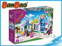 BanBao stavebnice - Trendy City - obchod se zvířátky 320ks + 3 figurky ToBees