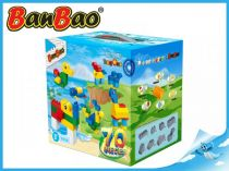 BanBao stavebnice - Young Ones - kostky velké 70ks