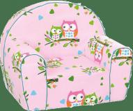 Bino Křesílko růžové sovičky