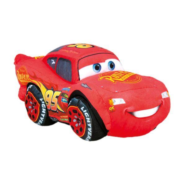 Dřevěné hračky Dino CARS 3 plyšový MCQUEEN