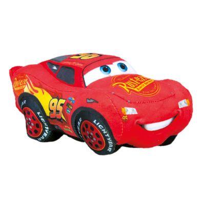 Dřevěné hračky Dino CARS 3 plyšový MCQUEEN malý