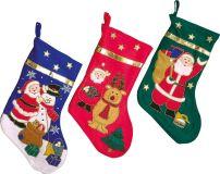 Small Foot Vánoční ponožka 3 ks