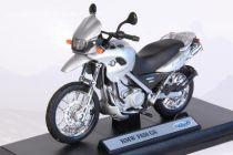 Welly - Motocykl BMW F650 GS model 1:18 stříbrné