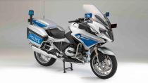 Welly - Motocykl BMW R1200RT Police model 1:18 modrý