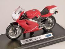 Welly - Motocykl Cagiva Mito 125 model 1:18 červená