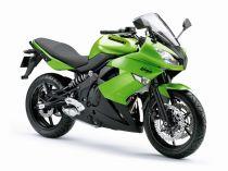 Welly - Motocykl Kawasaku Ninja 650R model 1:10 zelený