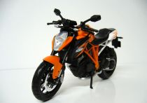 Welly - Motocykl KTM 1290 Super Duke R model 1:10 oranžový