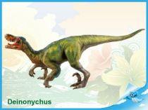 Dinosaurus - Deinonychus