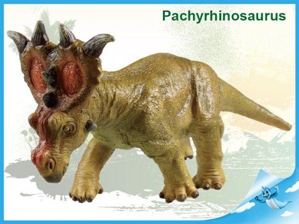 Dřevěné hračky Dinosaurus Pachyrhinosaurus Mikro Trading