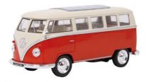 Kovový model auta - Model klasický autobus VW - poškozený obal