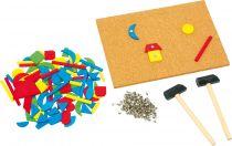 Small Foot Kreativní zatloukací retro tabulka Hammer