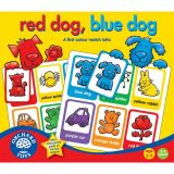 Orchard Tos - Anglické pexeso Modrý pes, červený pes