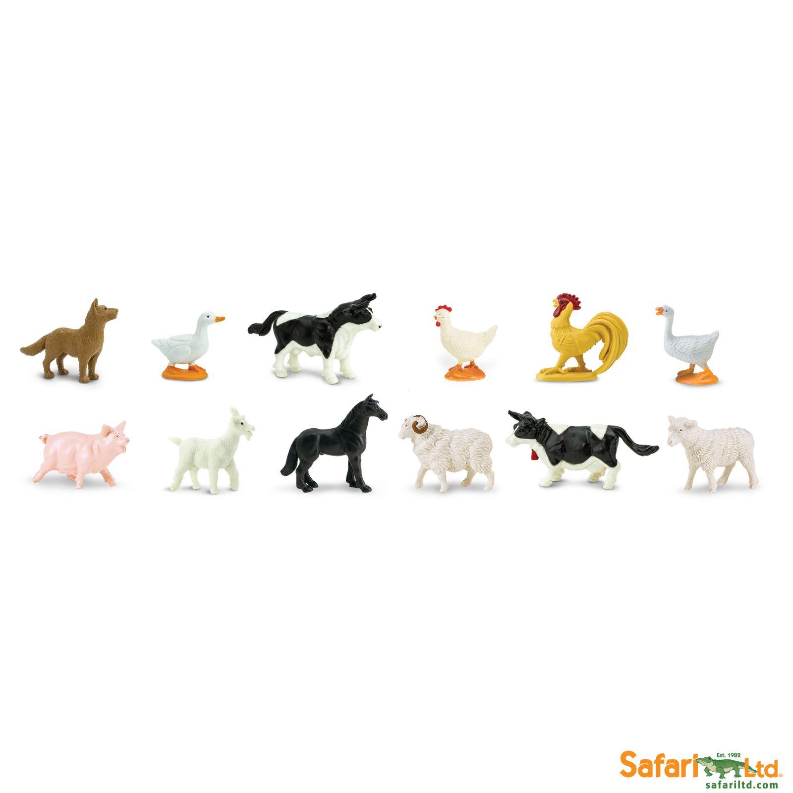 Dřevěné hračky Safari Ltd - Tuba - Na statku