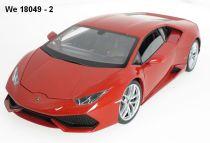 Welly - Lamborghini Huracán LP 610-4  model 1:18 červené