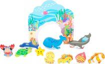 Dřevěné hračky Small Foot Dřevěná hračka podmořský svět Small foot by Legler