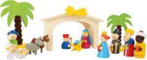 Dřevěné hračky Small Foot Dětský dřevěný betlém Small foot by Legler