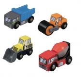 Maxim Stavební auta 4 kusy