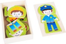 Dřevěné puzzle - Chlapecký sen - Povolání