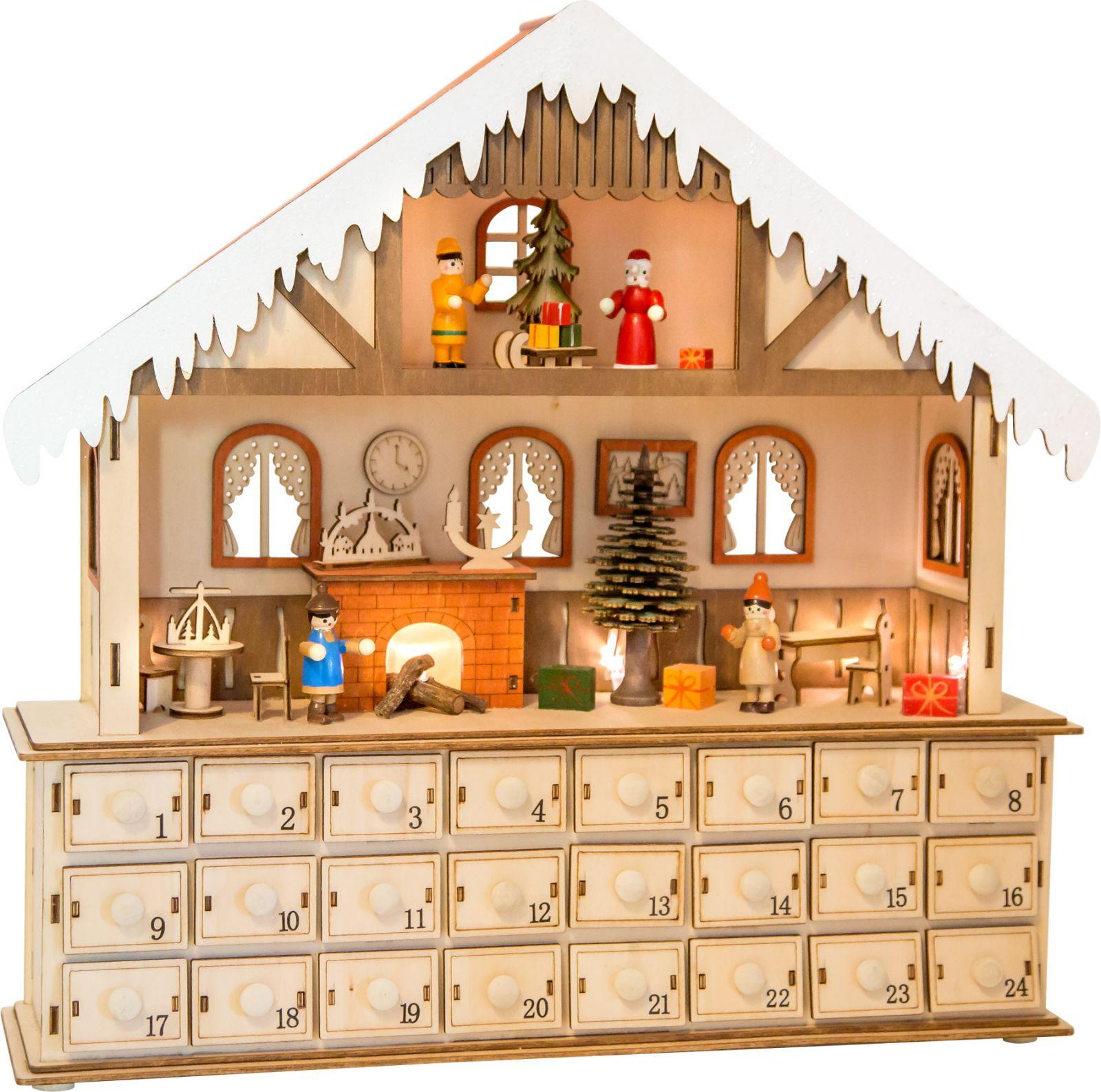 www adventni kalendar Dřevěné hračky Dřevěný adventní kalendář   Kouzelný  www adventni kalendar