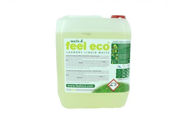 Dřevěné hračky Feel Eco - Prací gel na bílé prádlo 5000 ml Natur Jihlava