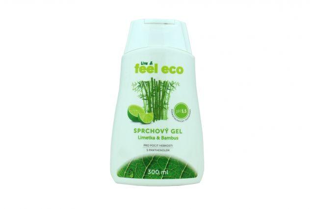Dřevěné hračky Feel Eco - Sprchový gel - limetka & bambus 300 ml Natur Jihlava