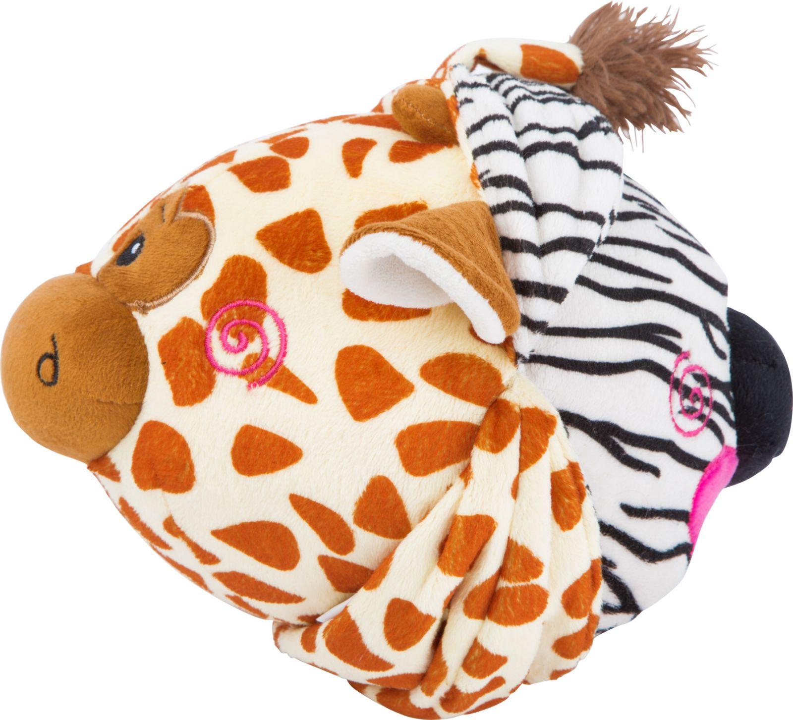Dřevěné hračky Small Foot Látkový balónek zebra a žirafa Small foot by Legler