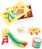 Small Foot Dřevěné puzzle hračky