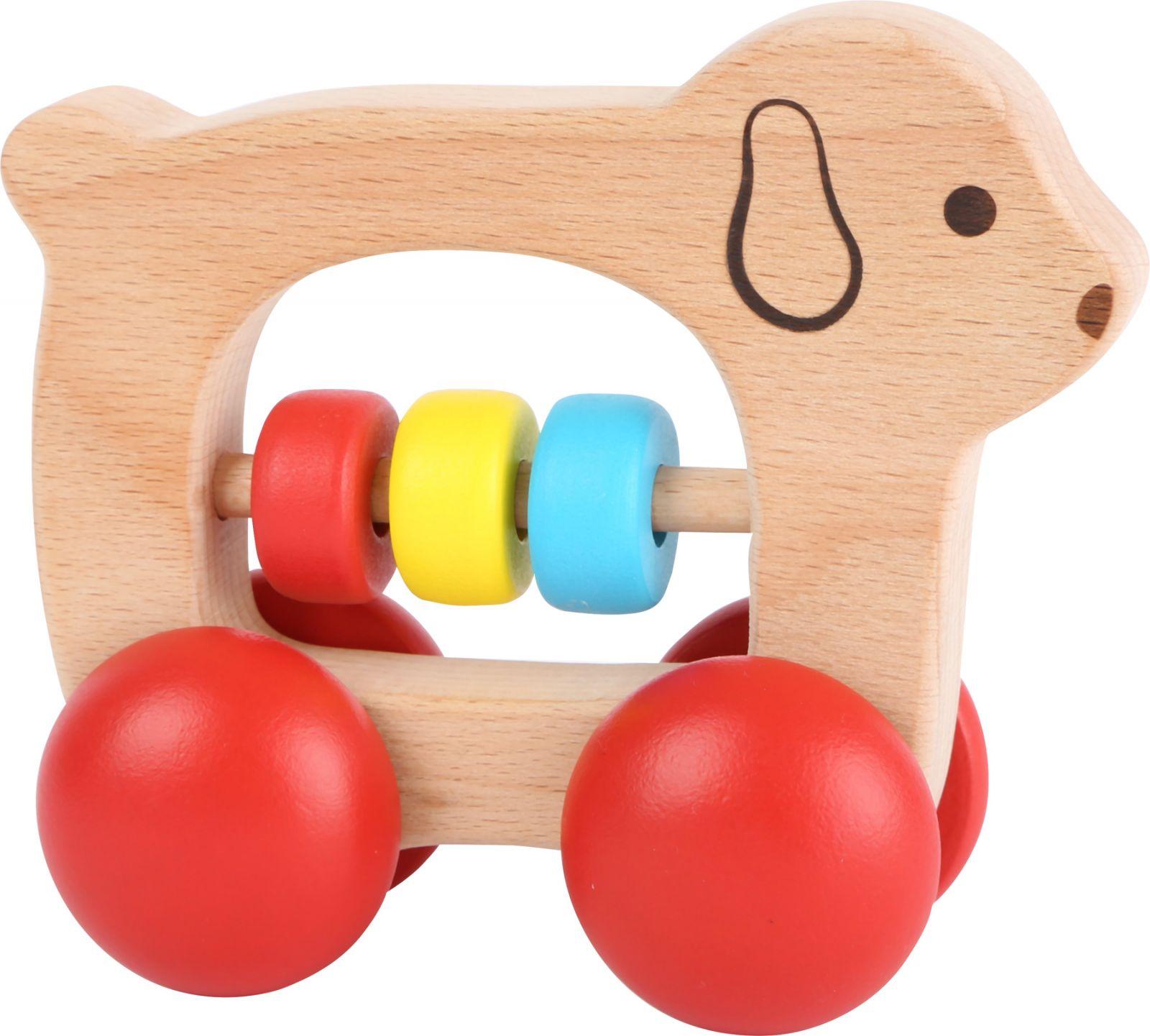 Dřevěné hračky Dřevěný pejsek Griffin Small foot by Legler