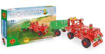 Malý konstruktér - FARMER Traktor s přívěsem (Zemědělské stroje)