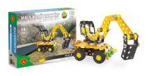 Malý konstruktér - HULK Bagr (Stavební stroje)