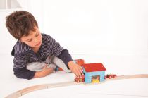 Dřevěné hračky Bigjigs Rail Tunel kurník