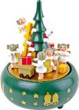 Small foot  Dřevěná hrací skříňka vánoční stromeček