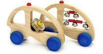 Muzikální hračky - Autíčko činel