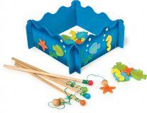 Dřevěné hračky Small Foot Rybářská hra mořský svět Small foot by Legler