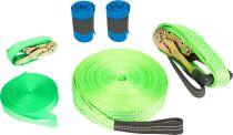 Slackline set (včetně ochrany stromu)