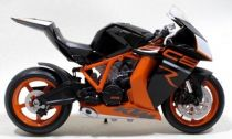 Welly - Motocykl KTM 1190 RC8 R 1:10 černý