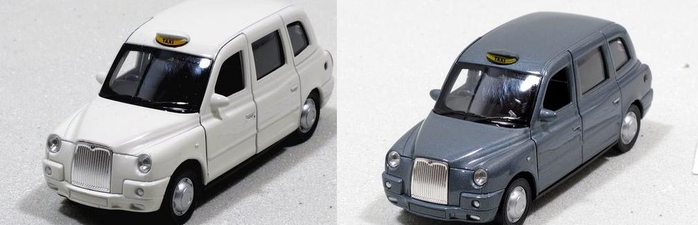 Dřevěné hračky Welly - The London Taxi TX4 model 1:34 šedé