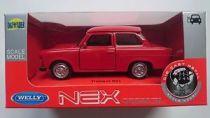 Welly - Trabant 601 1:34 červený