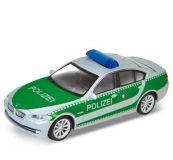 Welly -  BMW 535i model 1:43 policie zelené