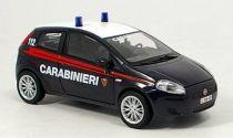 Welly - Fiat Grande Punto model 1:43 záchranáři černé