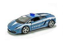 Welly - Lamborghini Gallardo LP560-4 model 1:43 policie modré